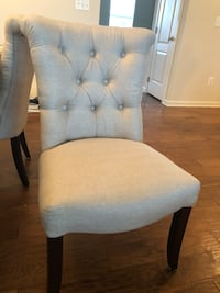 Pier 1- 4 brand new off white chairs Ashburn