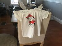 white and red Mickey Mouse shirt 2274 mi