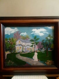 Hand painted picture Fort Wayne