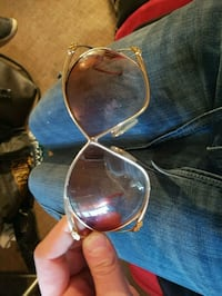 Real gold- very rare Christian  dior glasses! Langley Township, V2Y 0L1