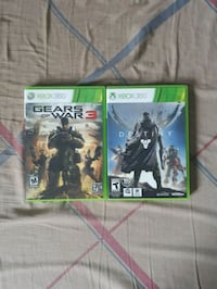 Xbox 360: Destiny & Gears of War 3 for $10 each Mississauga, L5R 3L2