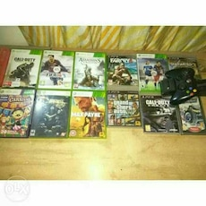 Xbox + ps3 games