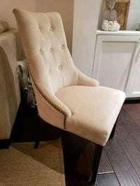 Upholstered dining chairs (set of 6) Toronto, M9P 2N4