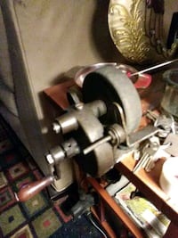 Antique hand turn bench grinder $40 or best offer St. Louis, 63118