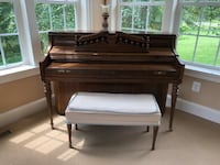 Kimball piano with bench Gainesville