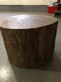 Tree Stump End Table   Chantilly, 20152