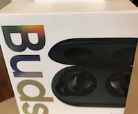 Samsung galaxy new ear buds new in box, black color