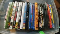 21 dvds and 2 blue rays..excel condition Toronto, M9B 6J6