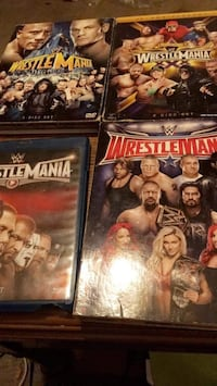 Wrestling dvds Essex, 21221