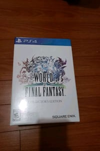 World of final fantasy collectors edition Mississauga, L5M 6Z2