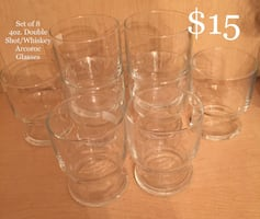 @====      Arcoroc Glass Shot Glasses