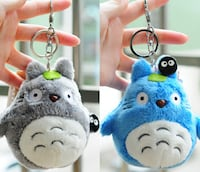My Neighbor Totoro Smiley key chain. New and Original . 10CM Soft Manchester