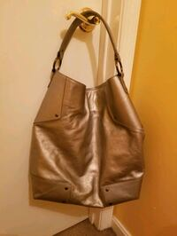 Like New! Leather Silver  Tote Milford Mill, 21244