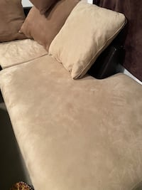 Luxury Leather and Suede Couch Arlington, 22205