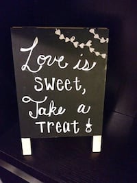 black and white wooden quote board Gaithersburg, 20886