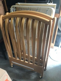 """Pali """"MADE IN ITALY"""" Real Wood Baby Crib (with drawer) Jackson, 08527"""
