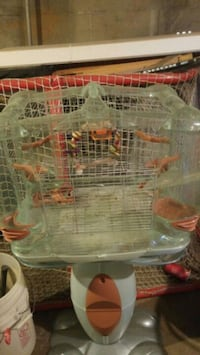gray wired pet cage Toronto, M6N 3Y1