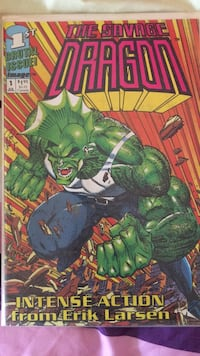 The Savage Dragon. number 1. First print Beaverton, 97005