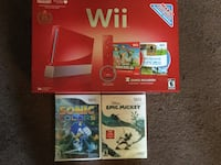 Nintendo Red Wii System, 25th Edition.  All is Brand New, never opened, not even the 2 separate games that r included. Don't miss out on this great deal. East Stroudsburg, 18301