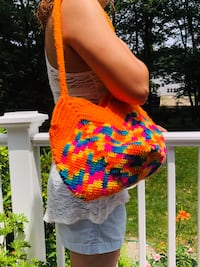 Handmade Knitted Handbag, Handmade Crochet Bag, Cross body bags, unique purses, unique handbags, crossbody tote bags, cloth hobo bags,round cross body bags, handmade leather bags, straw crossbody bag, handmade purse,christmas gift