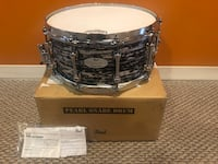 14x6.5 Pearl Reference Pure Music City Snare Drum Hillside