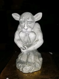 VINTAGE GARGOYLE 6IN FIGURE PAPEL 1997 HANDCRAFTED