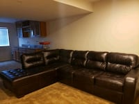 New leather sectional with chaise Clinton, 20735