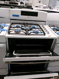 New JENN AIR gas stove and electric oven