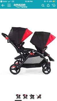 Options contour double stroller Kapolei, 96707