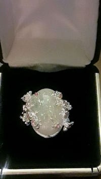 925 sterling silver moonstone with pink flowers on Palmdale, 93550