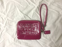 red and black leather wristlet Edmonton, T5M 2Y2