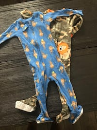 Brand new Toddler size 12month pajamas  Pace, 32571