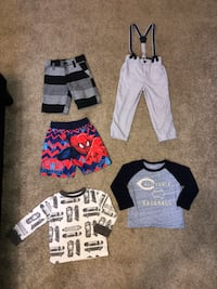 Toddlers 2T Clothing Lot! New & Good used condition clothing! Smoke free/pet free home! Read below for details... Wichita, 67207