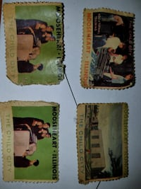 several assorted postage stamps Evans City, 16033