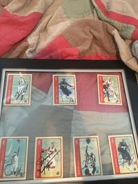 signed trading card collection