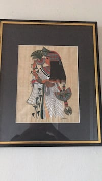 brown wooden framed painting of woman Alexandria, 22311