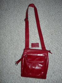 Danier Leather Red Purse, new - $65 Mississauga