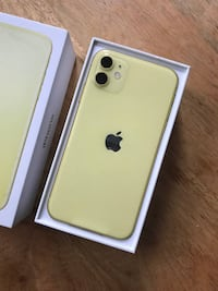 IPHONE 11 YELLOW 128GB Edmonton