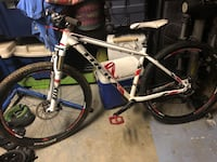 white and black hard tail mountain bike San Diego, 92128
