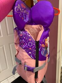 Frozen life jacket for little girls 14-27 kg in weight Whitby, L1P 1L1