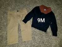 two black and brown long-sleeved shirts Amarillo, 79104