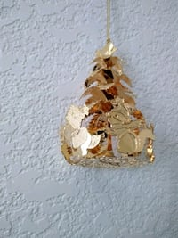 1993 Gold Woodland Christmas Ornament Selah, 98942