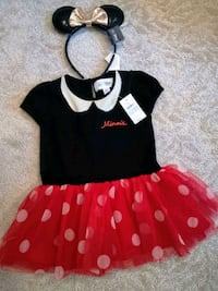 BNWT Disney Baby Gap Minnie Mouse dress costume Milton, L0P 1J0