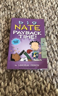 Tween books: Big Nate Payback Time