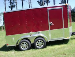 Lights Work2012 Colonys 7x14 Enclosed Trailer Tires good
