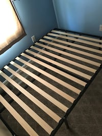 black and brown wooden bed frame Fairfax, 22030