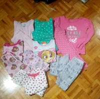 4t pjs total 9 sets.7 full , 1 half sleeves and 1 night gown  Toronto, M1J 1J3