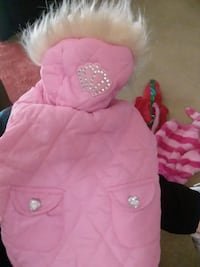 Pink dog coat Alexandria, 22304
