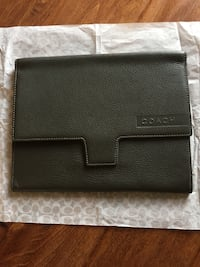 Brand new Coach tablet portfolio/sleeve/cover Milpitas, 95035