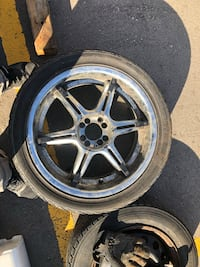 2005 Civic 18 inch Rims & Tires as is Mississauga, L4Y 2B6
